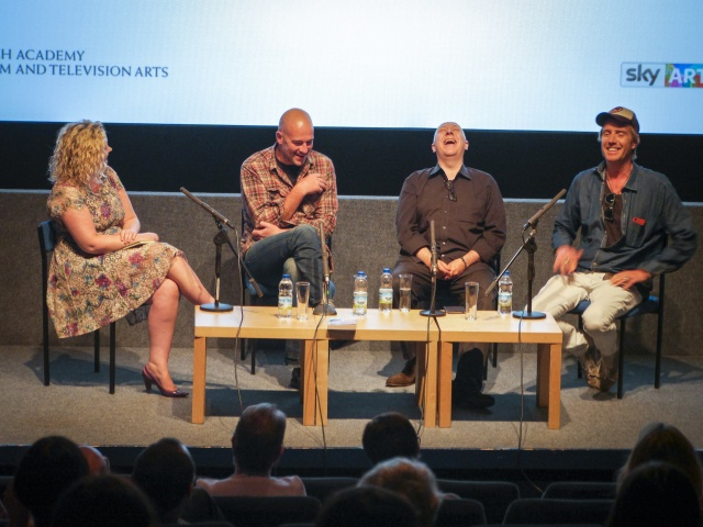 Lowri Cooke, Jake Chapman, Colin Vaines & Rhys Ifans - BAFTA Cymru