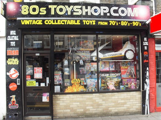 80's Toy Shop Cardiff