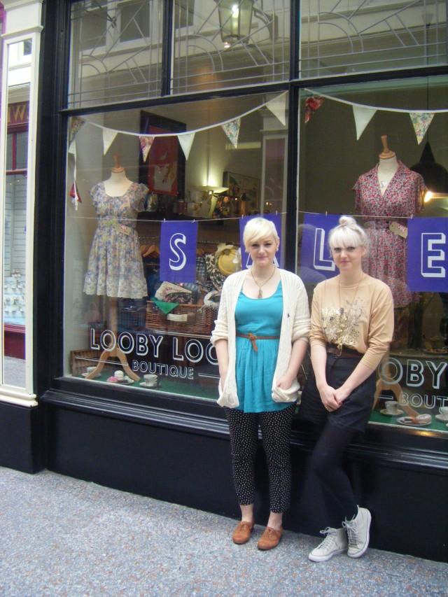 Lowri Grove a Hana Crisiant, Looby Lou's Boutique