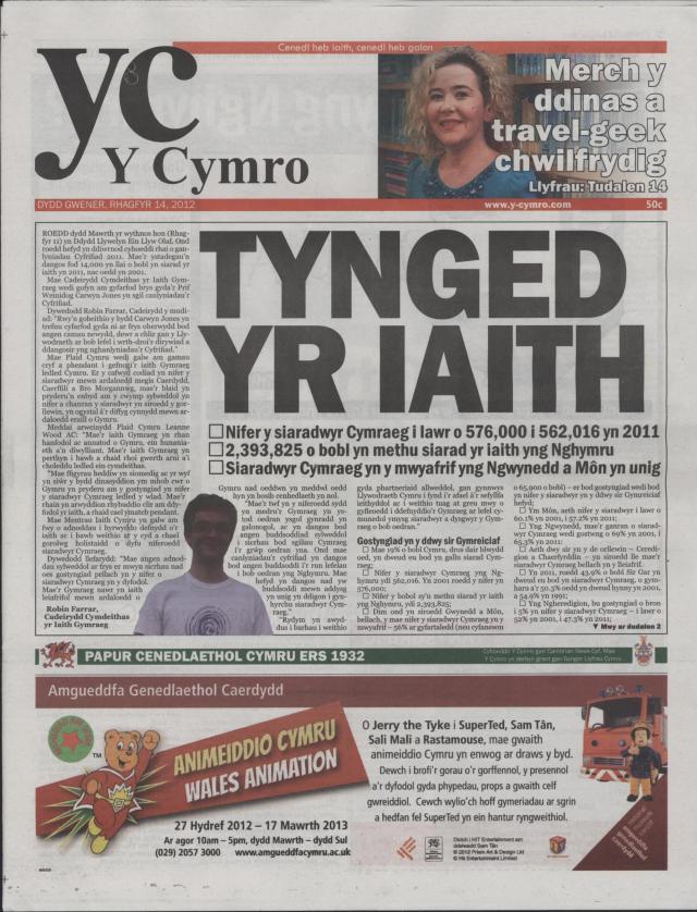 Y Cymro (1) Canllaw Bach Caerdydd