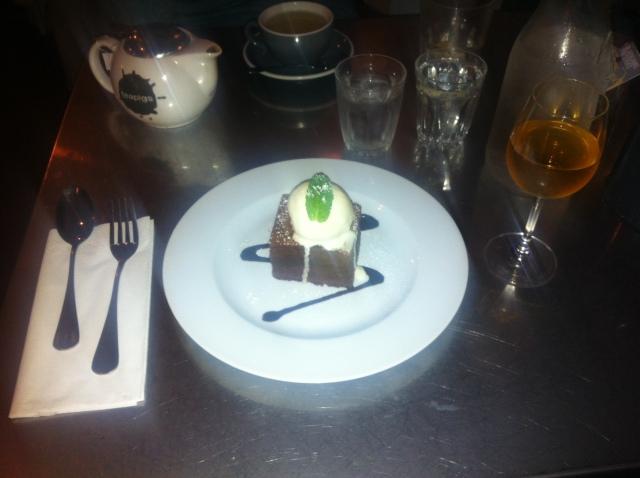 Chocolate Brownie Sundae, Baravin