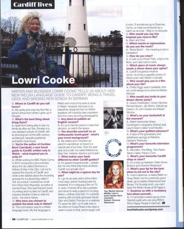 Cardiff Life Q&A
