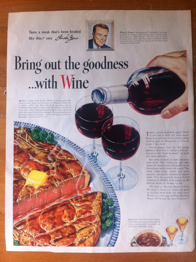 Bring Out The Goodness... With Wine