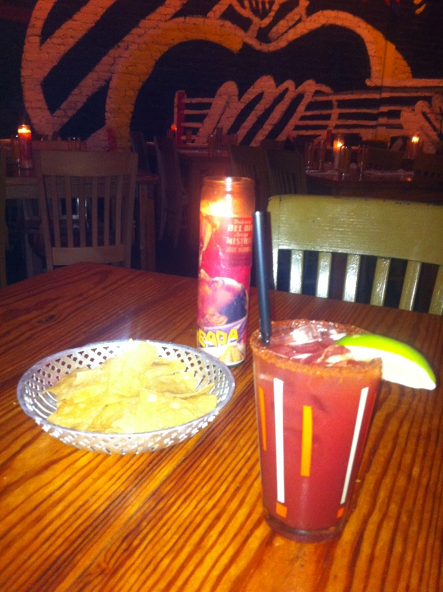 Blood Orange Margarita, Border Grill