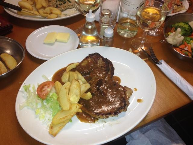 Lamb Steak, El Timon