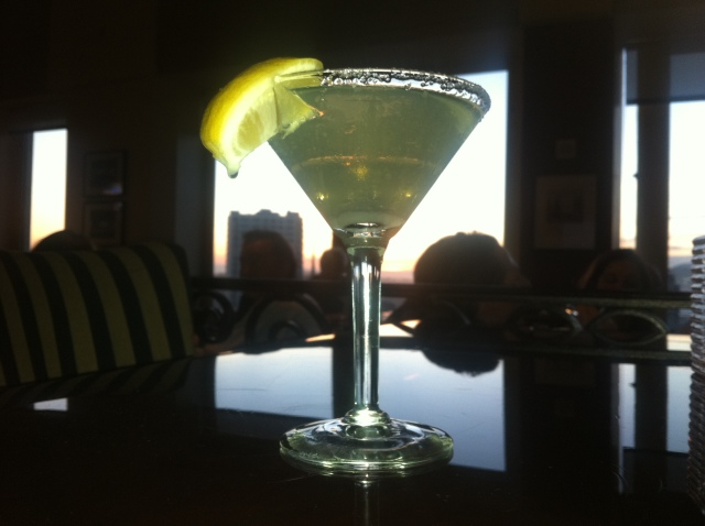 Lemon Drop Martini, Top of the Mark