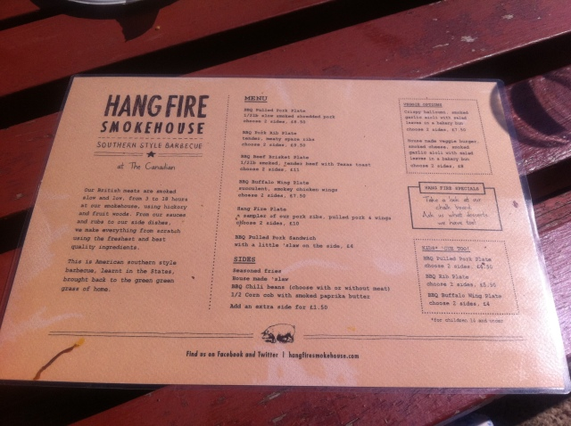 Hang Fire Smokehouse