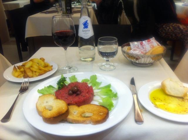 Steak Tartare, Ristorante Marciana