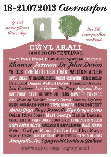 Gwyl Arall 2013