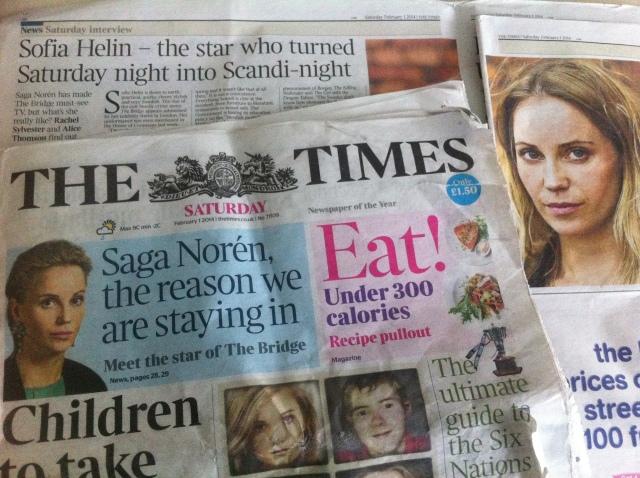 The Times Saga Noren