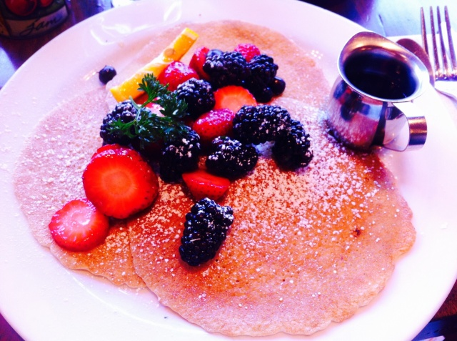 Swedish Buttermilk Pancakes, Sweet Maple San Francisco