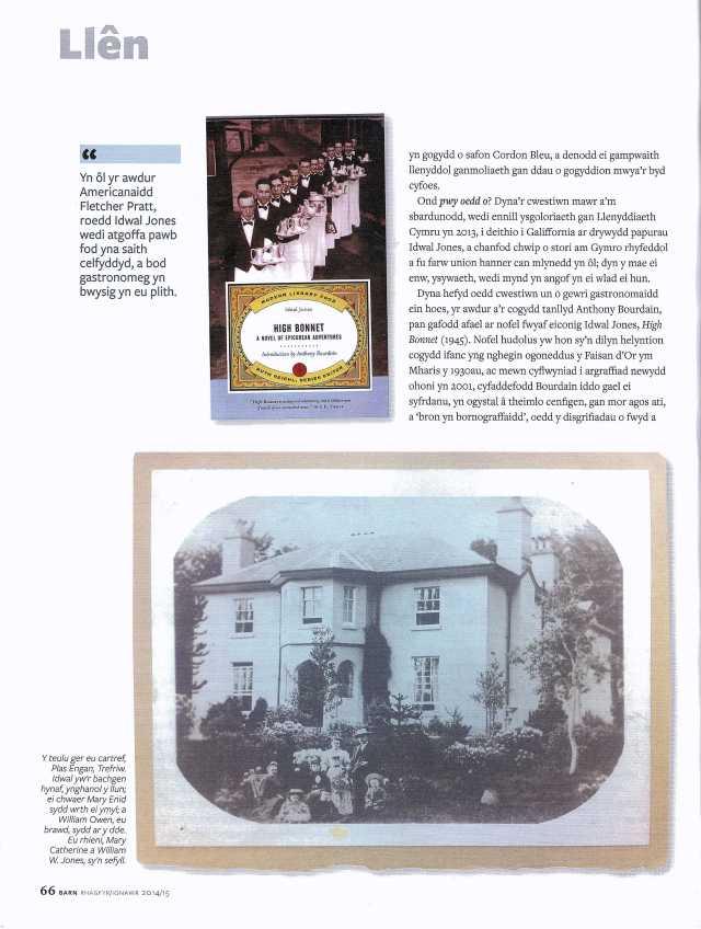 Cylchgrawn Barn - Idwal Jones ii