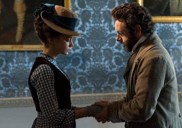 Carey Mulligan a Michael Sheen