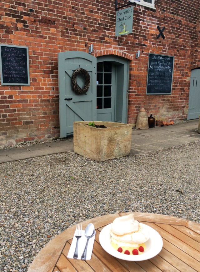 The Potting Shed Cafe, Glansevern Hall Gardens