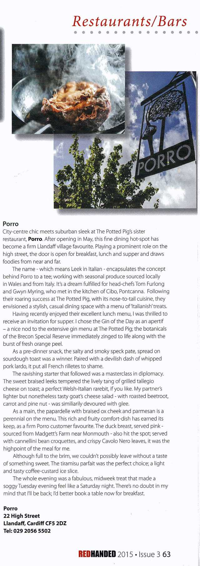 Porro Review
