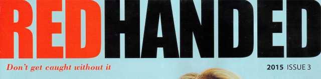 Red Handed Mag Rhagfyr 2015